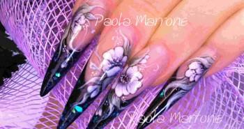 nail art fiori 3