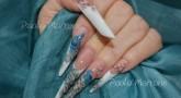 Nail Art acrilico animali – Tecnica mandorla russa