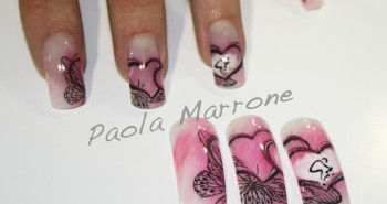 Paola Marrone Nail Art Love