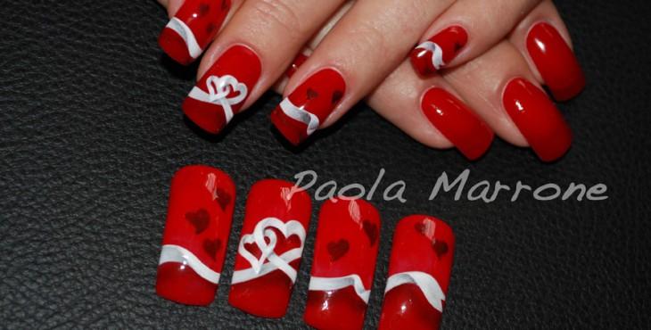 Nails Art San Valentino