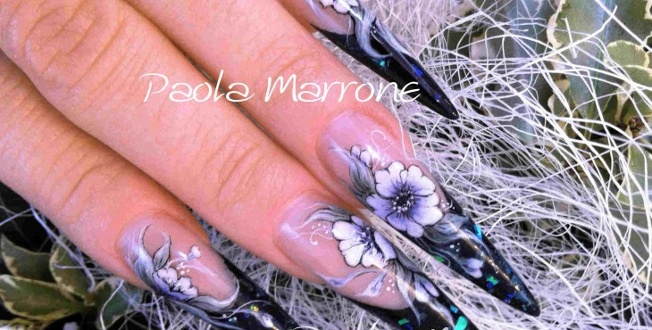 nail art fiori 2