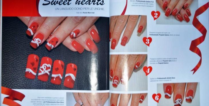 Nail Art San Valentino Articolo Pubblicato su Nails Love