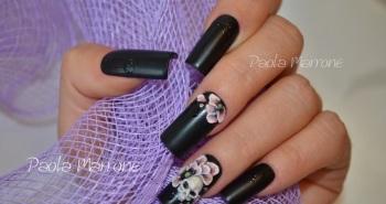 Nail art – Skull